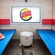 Burger King propose un sauna à Helsinki