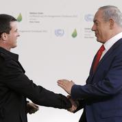 Manuel Valls en Israël en défenseur de l'initiative de paix française