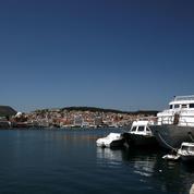 Plus que cinq CRS sur l'île de Lesbos
