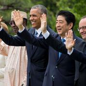 Au G7, Hollande blague sur le «ça va mieux» de Barack Obama