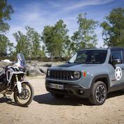 Honda Africa Twin- Jeep Renegade, les aventurières sont de retour