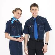 Les hôtesses et stewards de French Blue porteront du jean