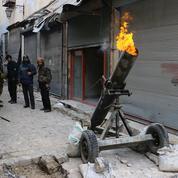 Alep: la coalition largue des munitions aux rebelles qui combattent l'EI