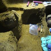 Découverte de tombes pré-hispaniques de plus de 2000 ans