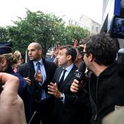 Macron victime de jets d'œufs : «C'est humiliant et rabaissant»