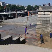 Après la crue, le business de la Seine fait grise mine