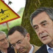 À Notre-Dame-des-Landes, Fillon fustige «le non-respect de la loi»