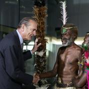 Chirac premier visiteur du Quai Branly