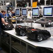 Dans l'usine aux 700.000 robots tondeuses du suédois Husqvarna