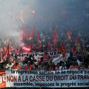 Loi travail : Valls et Martinez s'opposent frontalement