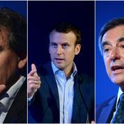 Quand Macron, Fillon et Montebourg débattent de la loi travail