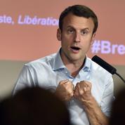 Emmanuel Macron propose un nouveau projet européen post-Brexit