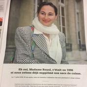 Figure malgré elle d'une pub Leclerc, Ségolène Royal demande l'arrêt de la campagne