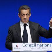 Sarkozy dresse son bilan à la tête du parti