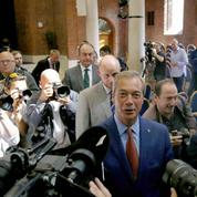 Sa mission accomplie, Nigel Farage s'en va