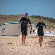 Les Bonnes, la première école de stand up paddle de l'île d'Oléron