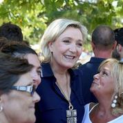 Marine Le Pen en campagne numérique