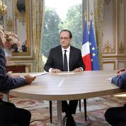 Hollande vante son bilan et pense à 2017