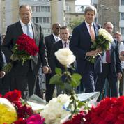 Attentat de Nice: Kerry et Lavrov unis dans l'hommage