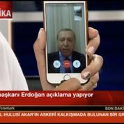 En plein coup d'État, Erdogan appelle à résister via... FaceTime