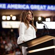 Melania Trump vante Donald sous les feux de Cleveland