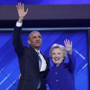 Obama exhorte l'Amérique à porter «Hillary» vers la victoire
