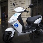 Après le vélo et la voiture, le scooter en libre accès a démarré à Paris