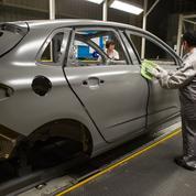 Le marché de l'automobile recule en France