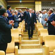 Erdogan hausse le ton contre l'Occident