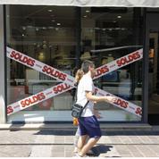 Soldes: les commerçants limitent la casse