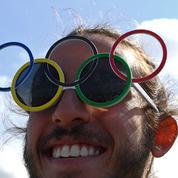 Les Jeux Olympiques privés de GIF animés