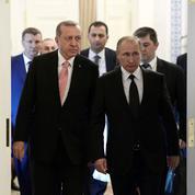 Poutine et Erdogan font cause commune