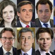 À droite, les candidats à l'investiture en ordre dispersé