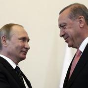 Rencontre Poutine-Erdogan: le tsar et le sultan face à l'Occident