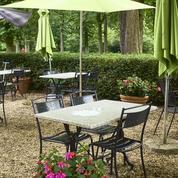 Les 5 terrasses au jardin à Paris