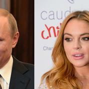 Lindsay Lohan veut rencontrer Vladimir Poutine