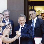 Après sa candidature, Nicolas Sarkozy affiche ses soutiens