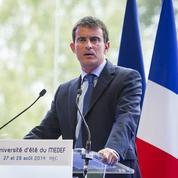 Quand Valls, Gattaz, Macron et Montebourg ont fait le buzz à l'université d'été du Medef