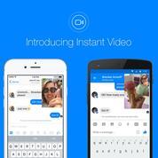 Avec Instant Video, Facebook poursuit son attaque des clones sur Snapchat