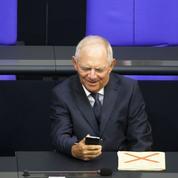 Pour Schäuble, en Allemagne, «ça va bien comme jamais»