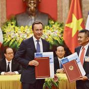 Hollande cherche à rattraper le retard de la France au Vietnam