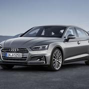 Audi A5 Sportback, le coupé se met en quatre