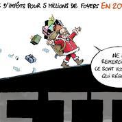 Le dessin d'Ixène: «Baisse d'impôts en 2017»