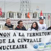 Fermeture de Fessenheim: les salariés d'EDF en grève