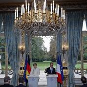 François Hollande plaide pour une Europe resserrée
