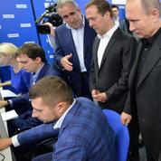 Victoire écrasante du parti de Poutine aux législatives