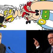 Polémique sur les Gaulois: au théâtre du buzz, une mise en scène signée Hollande et Sarkozy