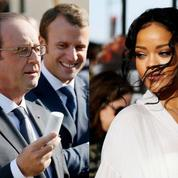 Rihanna s'énerve que François Hollande ne lui réponde pas