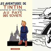 Et la couleur vint aux joues de Tintin au pays des Soviets