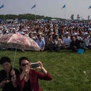 Premier show aérien public en Corée du Nord